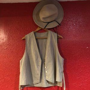 Other - Vintage cowboy vest